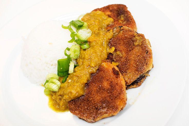 vegansk yasai katsu curry oppskrift