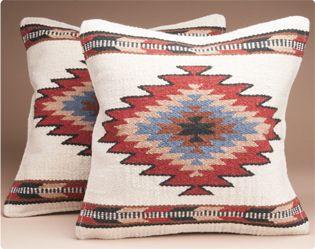 Southwest Decor Accents - Southwestern Pillows & Pillow Covers - Southwestern Pillow Covers - Mission Del Rey Southwest
