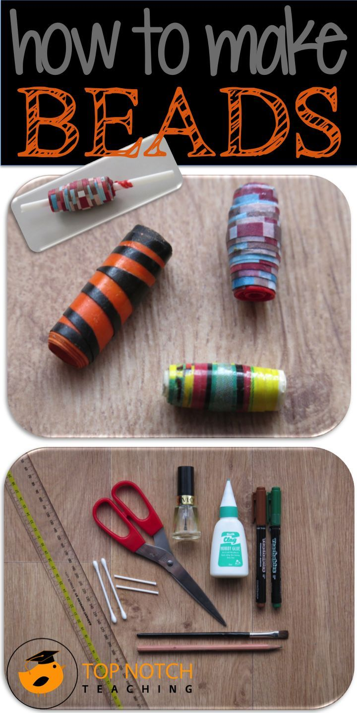 Bead Making Is A Fun Art And Craft Project To Complete With Kids Some