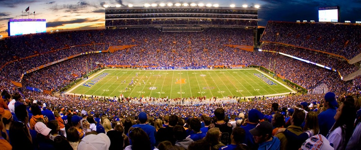 """Almost time for Gator Football in """"The Swamp""""- GatorZone.com"""