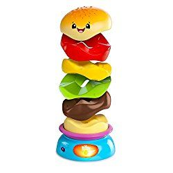 Go to http://prenatal-baby-toddler-preschool-store.co.uk/bright-starts-giggling-gourmet-stack-and-spin-burger  to review Bright Starts Giggling Gourmet Stack and Spin Burger by Bright Starts