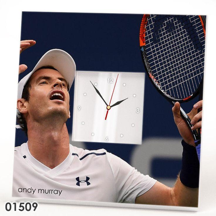 Andy Murray Wall Clock Mirror Frame ATP Tennis Lover Sport Fan Gift Design Watch #IKEA
