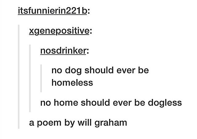 A Poem by Will Graham (lol!)