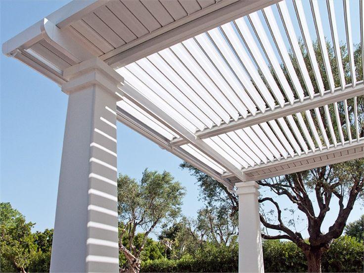 Aluminium Sunbrea and sun screening FLAP - Frigerio Tende da Sole