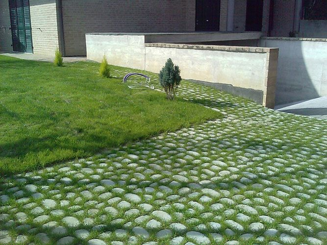 Oltre 25 fantastiche idee su pavimentazione da giardino su - Pavimentazione giardino senza cemento ...