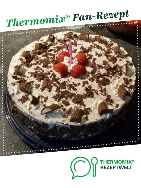 Variation Von Yogurette Torte Ohne Gelatine Rezept Thermomix Rezepte Kuchen Yogurette Torte Ohne Backen Yogurette Torte