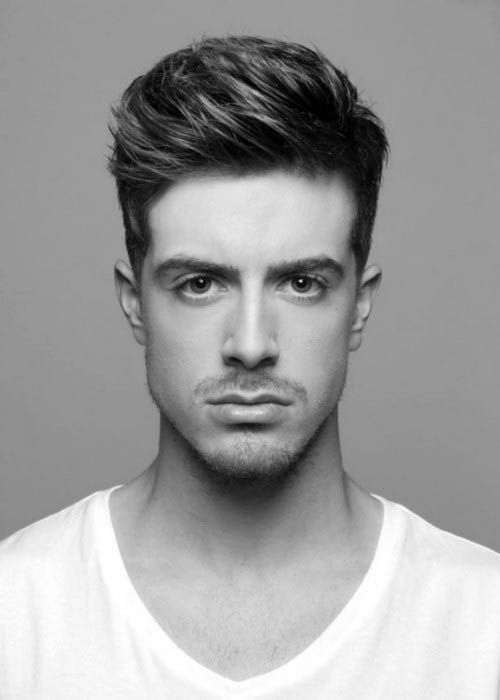 Dapper Mens Hairstyles For Medium Short Thick Hair Mens Hairstyles Thick Hair Styles Medium Hair Styles