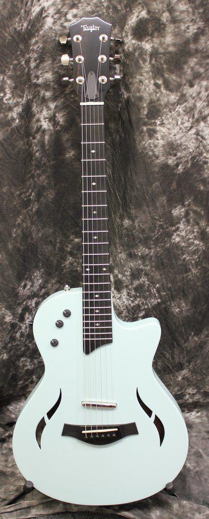 2017 Taylor T5Z Classic Deluxe LTD Sonic Blue Electric Guitar w/Case