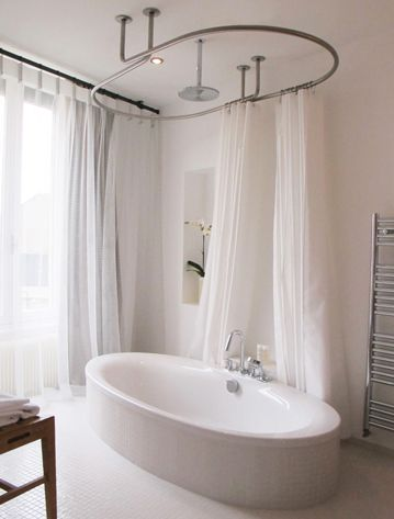 les 25 meilleures id es de la cat gorie barres de rideaux de douche sur pinterest astuces de. Black Bedroom Furniture Sets. Home Design Ideas