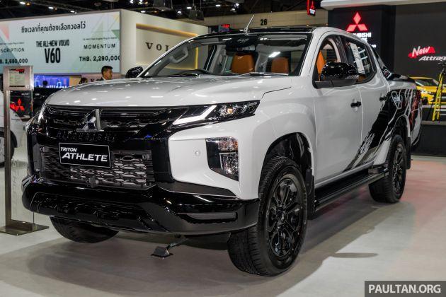 Gallery 2019 Mitsubishi Triton Athlete In Thailand In 2020 Triton 4x4 New Triton Mitsubishi