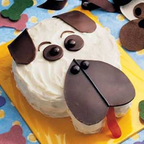 Cute Dog Birthday cake!