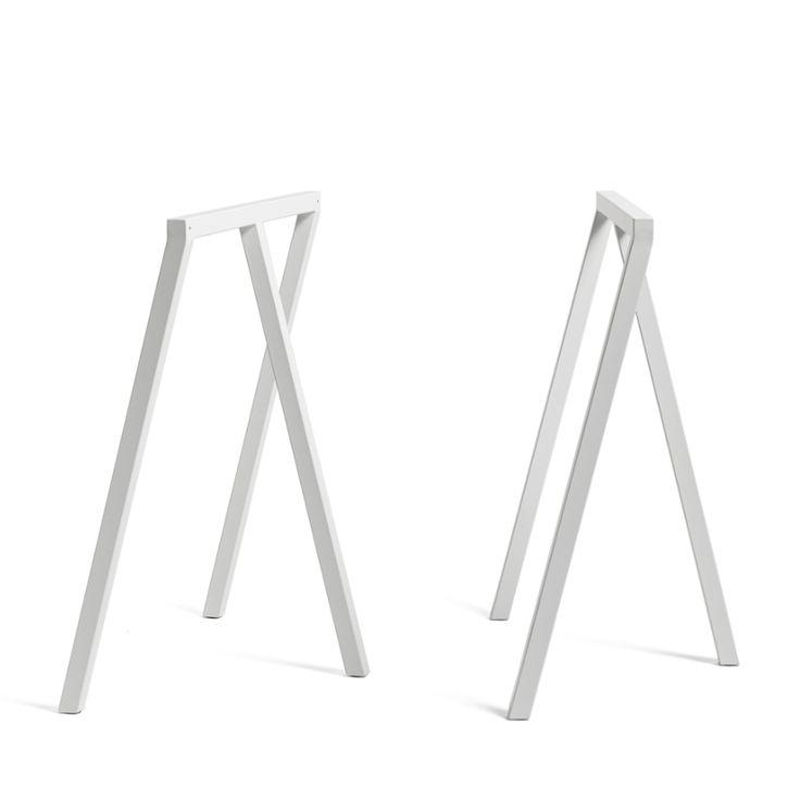 Loop Stand Frame pöydänjalat, valkoinen