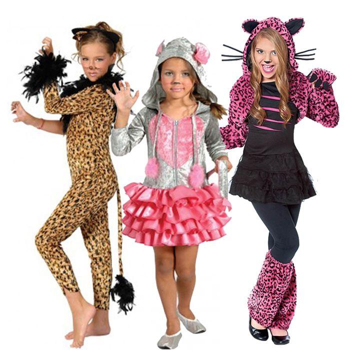 αποκριάτικες στολές για κορίτσια - στολές γατούλες και ζωάκια