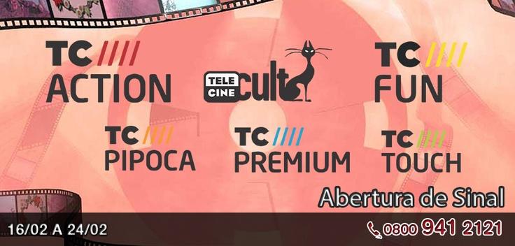 Se liga ai pessoal: de 16 a 24 de fevereiro os canais Telecine estarão com sinal aberto na Claro Tv. Uma semana inteirinha para você assistir a melhor programação de filmes de todos os gêneros. Sintonize dos canais 61 ao 66.   Gostou da novidade?   http://www.clarotv.br.com/