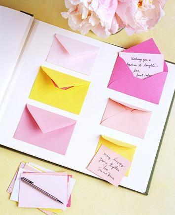 Inove com o scrapbook   Recados em envelopinhos