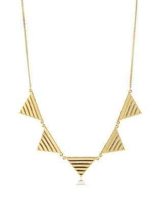 65% OFF a.v. max Pyramid Necklace