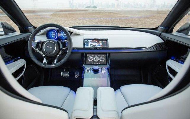 2016 Jaguar F-Pace SUV interior