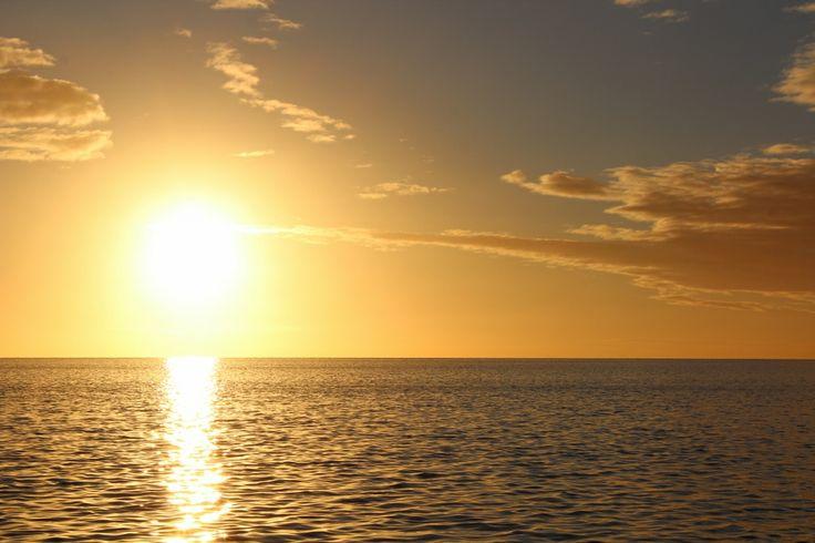 Island sunsets