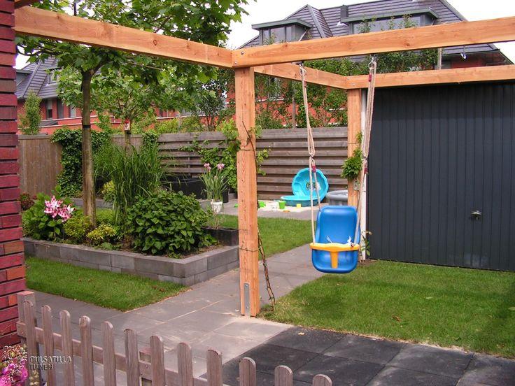25 beste idee n over pergola schommel op pinterest schommels buiten schommels en yard swing - Pergola klimplant ...