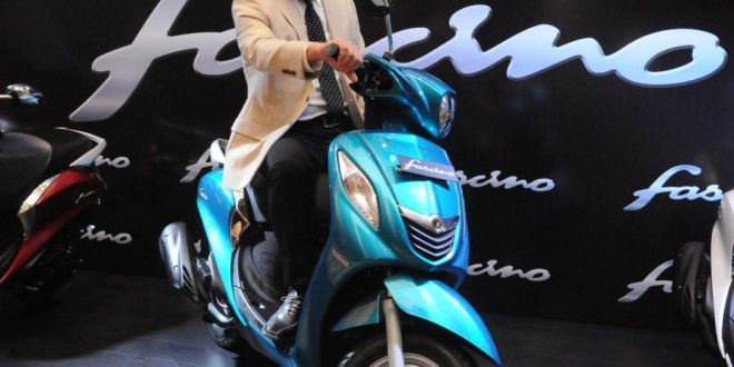 Yamaha Fascino Scooter Launched. Price - INR 52000 http://www.carblogindia.com/yamaha-fascino-scooter-price-pics-specs-details/