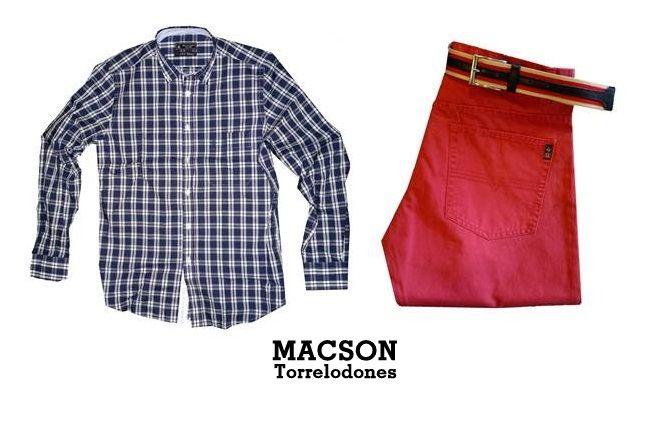 Moda hombre, elegante en el sport. https://www.facebook.com/pages/Macson-Torrelodones/581067705250305?ref=hl
