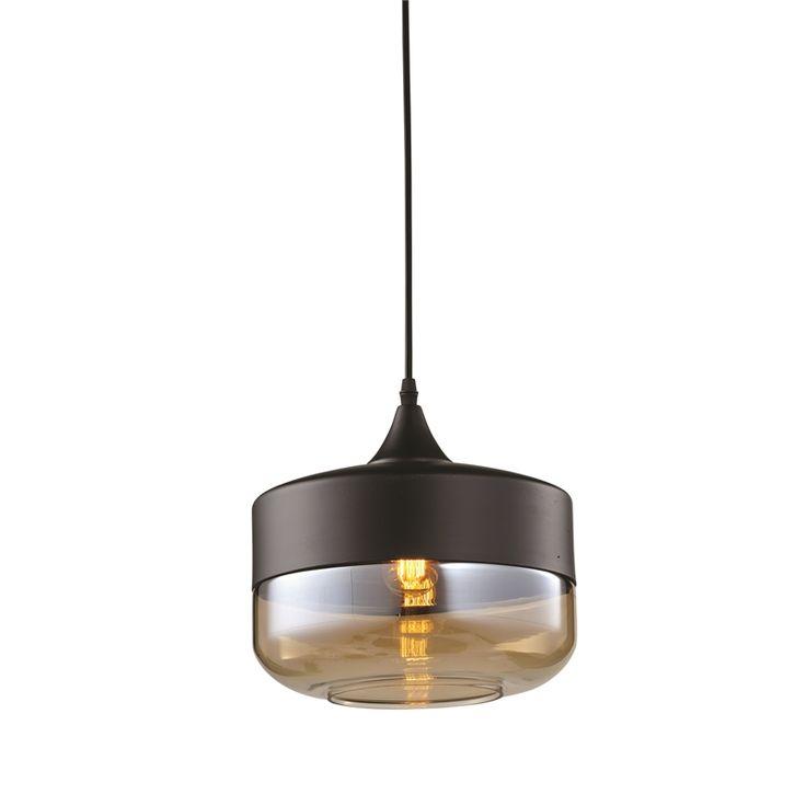 Home Design 25cm 240V Ambra Tozzo Light Pendant