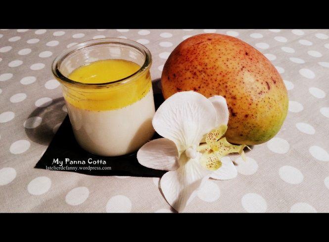 panacotta au coulis de mangue recette thermomix tm5 thermomix panna cotta