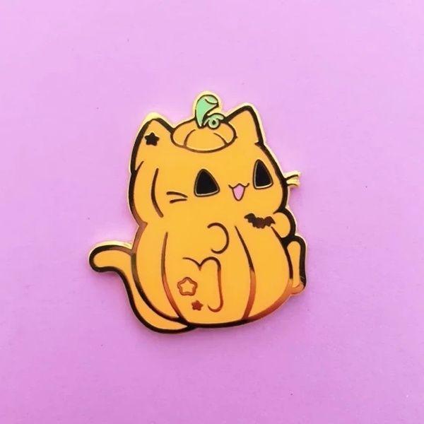 Ghost Shiba Dangling Pin