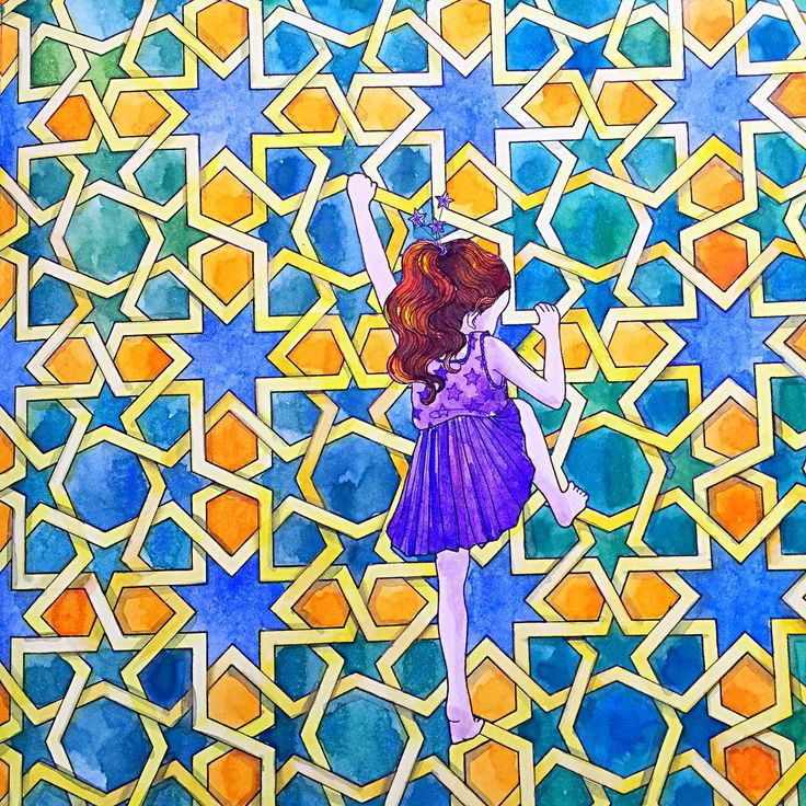 Coloringbook Watercolor Schmincke WinsorandNewton