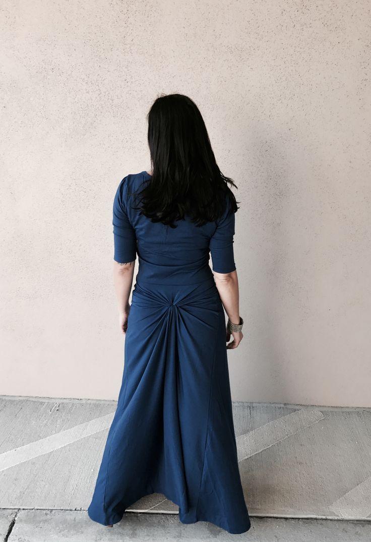 LulaRoe Ana Dress with added ruche made by a hair tie! @lularoenichollmikulka