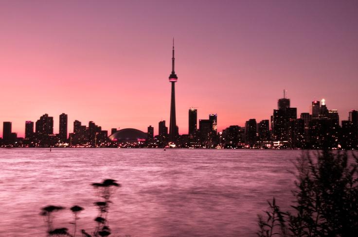 Toronto Island sunset
