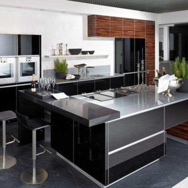 cuisiniste la cuisine ouverte se fait belle id e cuisine cuisine ouverte cuisine. Black Bedroom Furniture Sets. Home Design Ideas