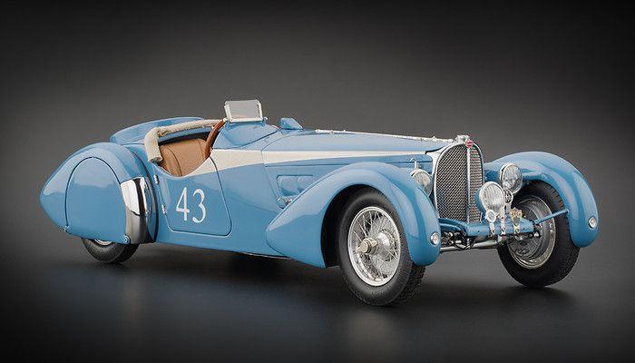 CMC Models 1938 Bugatti 57SC Corsica Sports Version 1:18 Scale Diecast Car.
