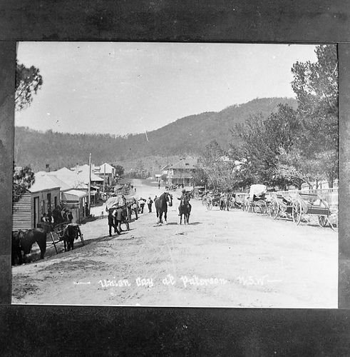 https://flic.kr/p/aCMLLP | Paterson market day, NSW, Australia (copy from Weston photograph) | Source: livinghistories.newcastle.edu.au/nodes/view/14658 This image was scanned from a film negative in the Athel D'Ombrain collection [Box Folder B10399] held by Cultural Collections at the University of Newcastle, NSW, Australia. This image can be used for study and personal research purposes. If you wish to reproduce this image for any other purpose you must obtain permission by contacting the…