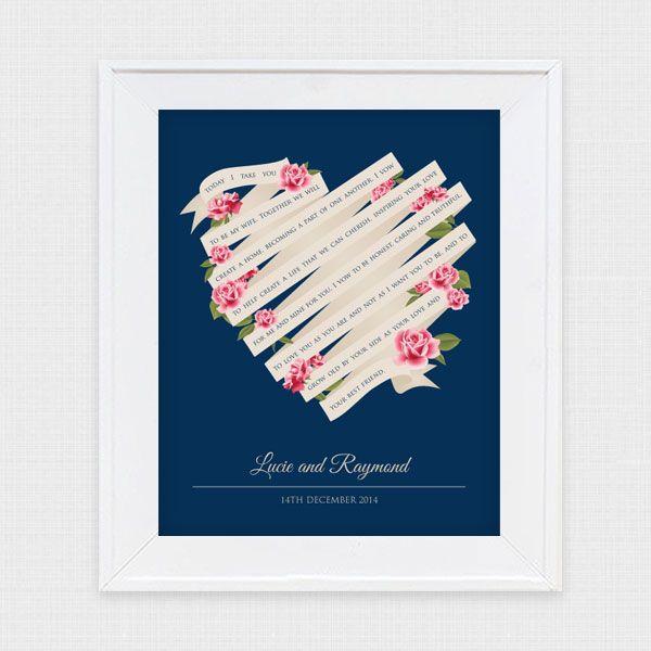 68 best wedding stationery images on pinterest wedding i do it yourself wedding vow art solutioingenieria Choice Image