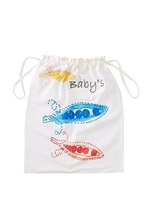 72% OFF Aviva Stanoff Baby's Laundry Bag (White/Multi)