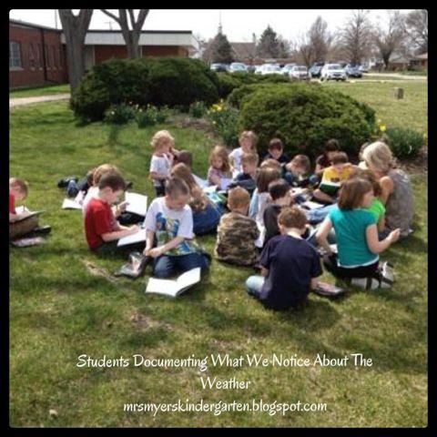 Inquiring Minds: Mrs. Myers' Kindergarten: Exploring the Weather (Wind)