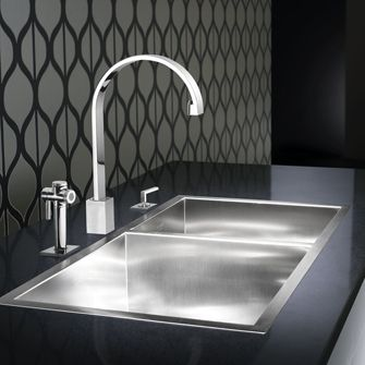 Amazing Blanco MicroEdge Sink. A Topmount With An Ultra Thin Rim.