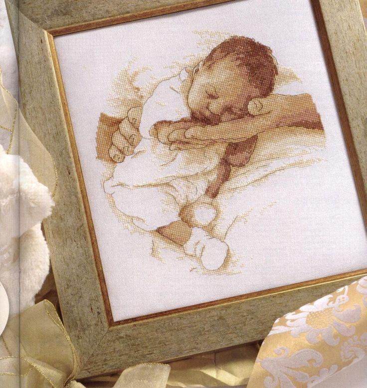 madre+con+neonato+a+punto+croce.jpg (1258×1331)