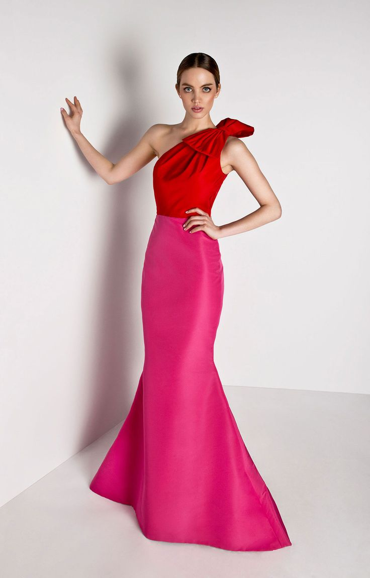 one_shoulder_silk_faille_colorblock_gown_front1