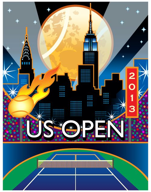 And so it begins! The 2013 US Open Championships start today, August 26, 2013!