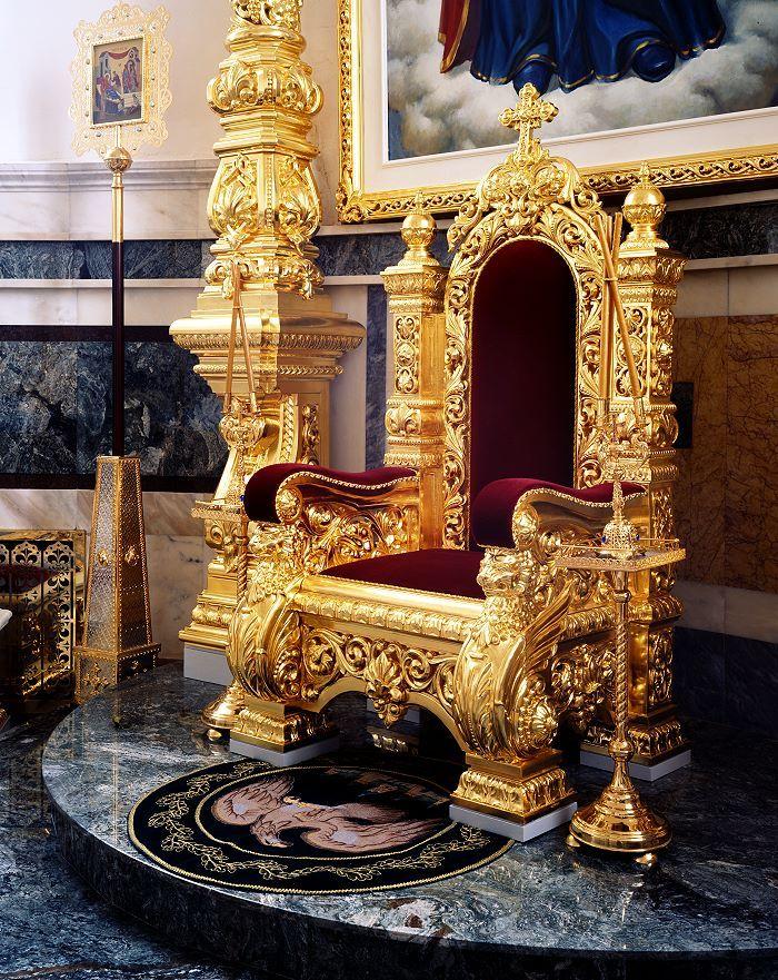 фото королевских тронах разу