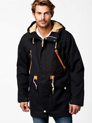 Urban Parka - Colour Wear - Black - Jackets And Coats - Clothing - Men - Nelly.com Uk