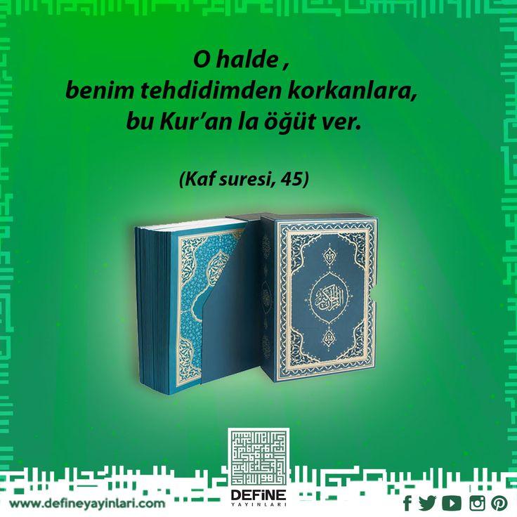 """""""Sizin en hayırlınız Kur'an'ı öğrenen ve öğretendir!"""" (Buhari) Kuranı kerim: http://www.kitapkaynagi.com/product/define-yayinlari/kuran-i-kerim--termo-deri-bilgisayar-hatti- #define #defineyayınları #defineyayinlari #dua #pray #reca #kuranıkerim #kuran #kutsalkitap #ayet #hadis"""