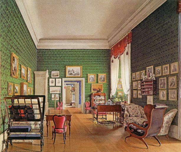 Berliner schloss wohnzimmer prinz waldemar by e gaertner for Wohnzimmer 1900