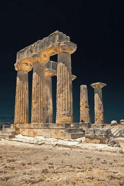 Temple of Apollo, Ancient Corinth, Greece