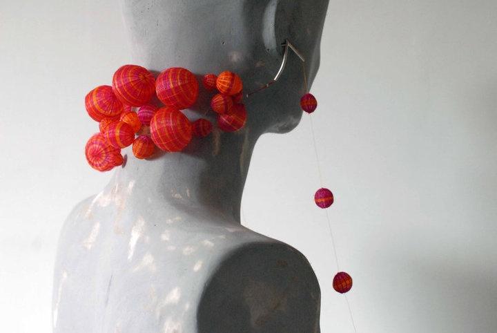 Paula Leal Horsehair Earrings