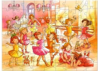puzzel 'Ballerina's' (72pcs) Haba | kinderen-shop Kleine Zebra