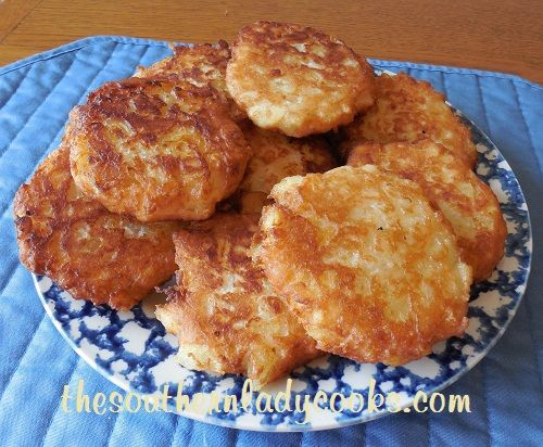 """PINEAPPLE FRITTERS -  """"Wonderful for breakfast - just drizzle with syrup or powdered sugar and serve with coffee. If you like pineapple, you will love this recipe.""""   TheSouthernLadyCooks.com"""