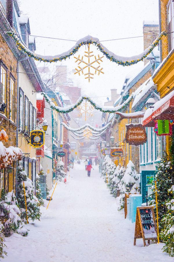 The Best Things To Do In Quebec City In Winter Quebec Canada Quebec City Christmas Quebec City Winter Quebec City Canada Winter